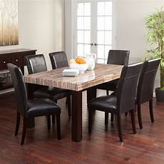 carmine 7 piece dining table set dining table sets at