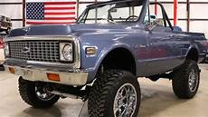 1971 chevy blazer k5 blue youtube