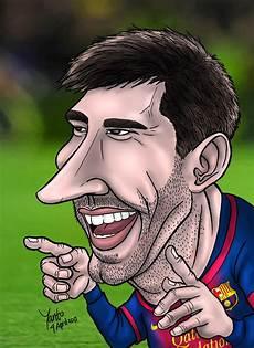 60 Gambar Karikatur Messi Karitur
