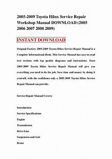 auto repair manual free download 2005 chevrolet express 2500 on board diagnostic system 2005 2009 toyota hilux service repair workshop manual download 2005