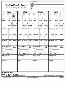 editable army apft score calculator fillable printable online forms to download in word