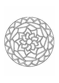 einfache mandalas malvorlagen