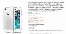 apple iphone 6 spigen verr 228 t bei design gr 246 223 e und
