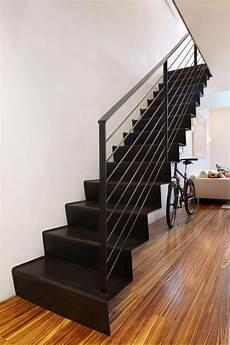 escalier droit design les beaux designs d escalier m 233 tallique archzine fr