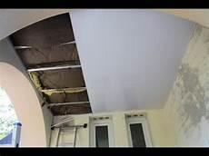 Comment Faire Un Plafond Suspendu Poser Plafond Suspendu En Pvc Un Ex No Bricole
