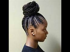 cornrows and ponytail braids hairstyles 2018 youtube