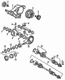 2003 audi s8 axle shaft seal replacement drive shaft oil leak driveshaft issue or audi a6 differential pinion seal front rear axle axles shafts 857525275 genuine audi part
