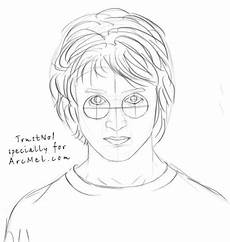 how to draw harry potter step by step arcmel