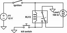 latching relay with kill switch electrical engineering stack exchange