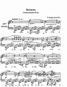 nocturne in e minor chopin nocturne sheet music music