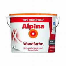 wandfarbe weiss alpina wandfarbe wei 223 13 l von toom ansehen