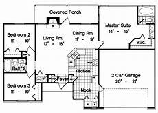 house plans 1300 square feet ranch style house plan 3 beds 2 baths 1300 sq ft plan