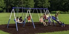 metal swing sets xdp recreation all playground metal swing set