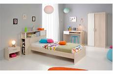 lit 90x190cm pour chambre enfant acacia clair carlo lit