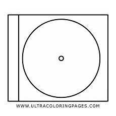 Malvorlagen Cd Dibujo De Caja De Cd Para Colorear Ultra Coloring Pages