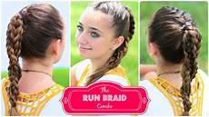 the run braid combo hairstyles for sports cute hairstyles