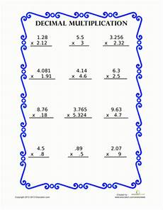 multiplying decimals worksheets with answers 7338 decimal multiplication worksheet education