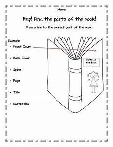 parts of a book kindergarten common core by like mother like