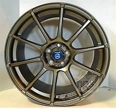 sparco assetto gara wheel 8 0 quot x 18 quot matt bronze 5x100mm