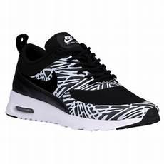 black and white nike air max thea nike air max thea s running shoes black black