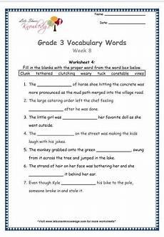 grade 3 vocabulary worksheets week 8 vocabulary worksheets english vocabulary words vocabulary