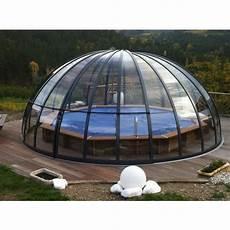 dome pour piscine hors sol l abri de piscine circulaire ou d 244 me