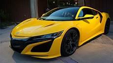 2020 acura nsx 2020 acura nsx indy yellow pearl motor1 photos