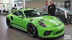 collecting my friend s new porsche 911 gt3 rs