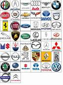 Logos Of Different Automobile Brand  Car Logo Design