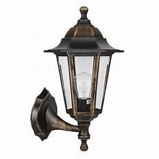 buy traditional mayfair ip44 outdoor up and down wall light in brushed gold from our wall