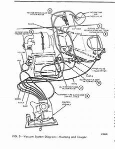 1969 ford mustang engine diagram primary vacuum system location vintage mustang forums