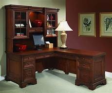 classic home office furniture l shaped computer desk and return classic home office