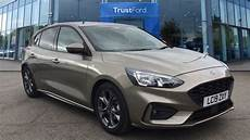 ford st line ford focus 2019 diffused silver 163 17 000 bookham trustford