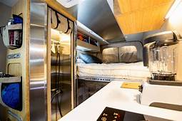 Luxury Camper Van Can Go Off Grid For Days  Curbed