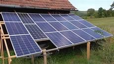 pv speicher selber bauen photovoltaikanlage 2 kw selbst gebaut teil 1