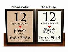 12th Wedding Anniversary Gifts For