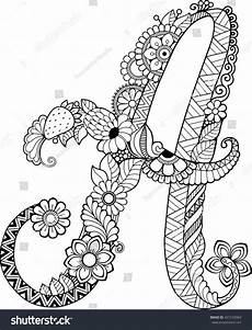 colouring pages for adults of animals letters 17309 coloring book for adults floral doodle letter flowers alphabet letter книжка
