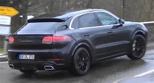 2020 Porsche Cayenne Coupe Sheds Skin As Unveiling Date