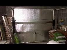 tuto comment isoler sa porte de garage du froid
