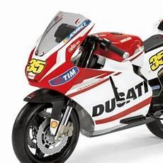 Moto Electrique Peg Perego Ducati Gp 12v Enfant Valentino