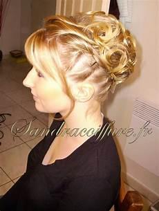chignon sur cheveux courts coiffure mariage cheveux longs chignon