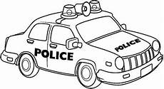Ausmalbilder Polizeiauto Free Colouring Pages Of Cars Free Clip