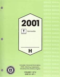 online car repair manuals free 2001 pontiac bonneville engine control 2001 pontiac bonneville factory service manual 2 volume set