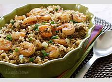 dirty brown rice with shrimp_image