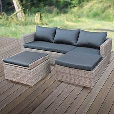 lounge set garten poly rattan lounge set gartenset garnitur polyrattan
