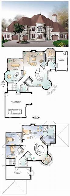 turret house plans luxury houseplan 65361 this dreamy castle inspired house
