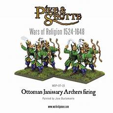 new ottoman janissary archers warlord games