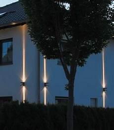 Außenbeleuchtung Haus Led - led wandleuchte 183 up au 223 enleuchte rayon grafitgrau
