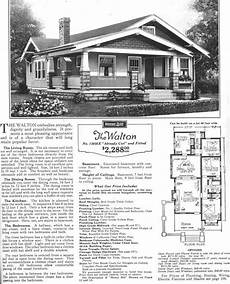 sears bungalow house plans sears walton craftsman house bungalow house plans