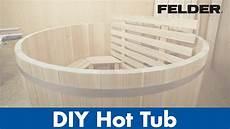 diy tub of wood made with felder 174 woodworking